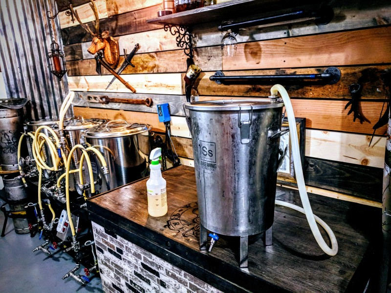 Home Beer Brewery and Home Brewing Setup Homebrew
