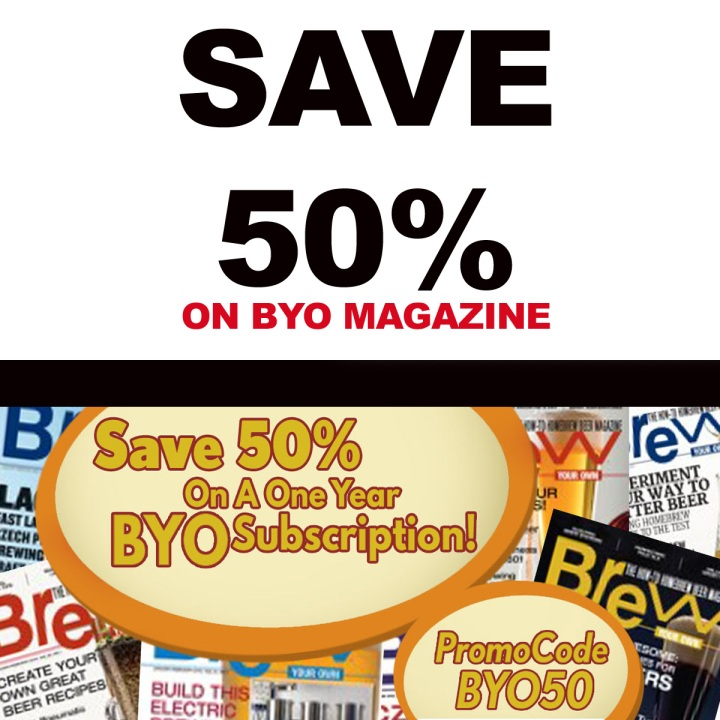 BYO Magazine Promo Code