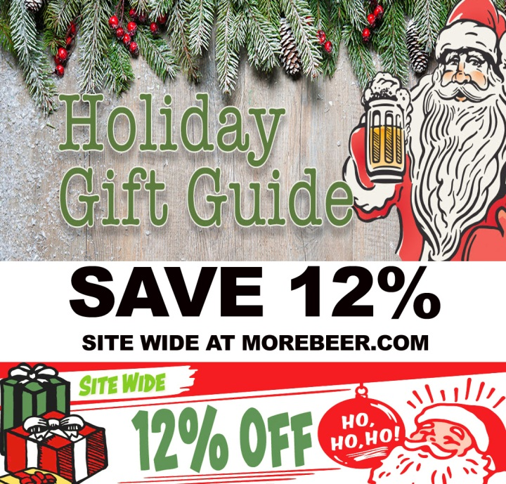 MoreBeer.com Promo Code Save 12% Site Wide