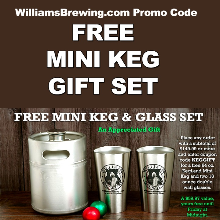 WILLIAMS BREWING PROMO CODE