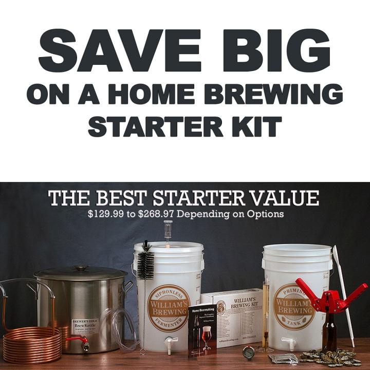 Williams Brewing Starter Kit Promo Code