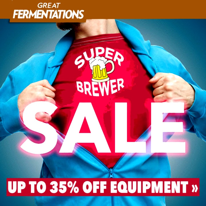Save 35% On Homebrewing Equipment with this GreatFermentations.com promo code