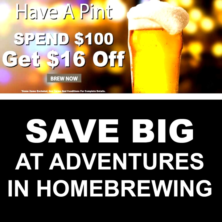 Adventures In Homebrewing Promotion