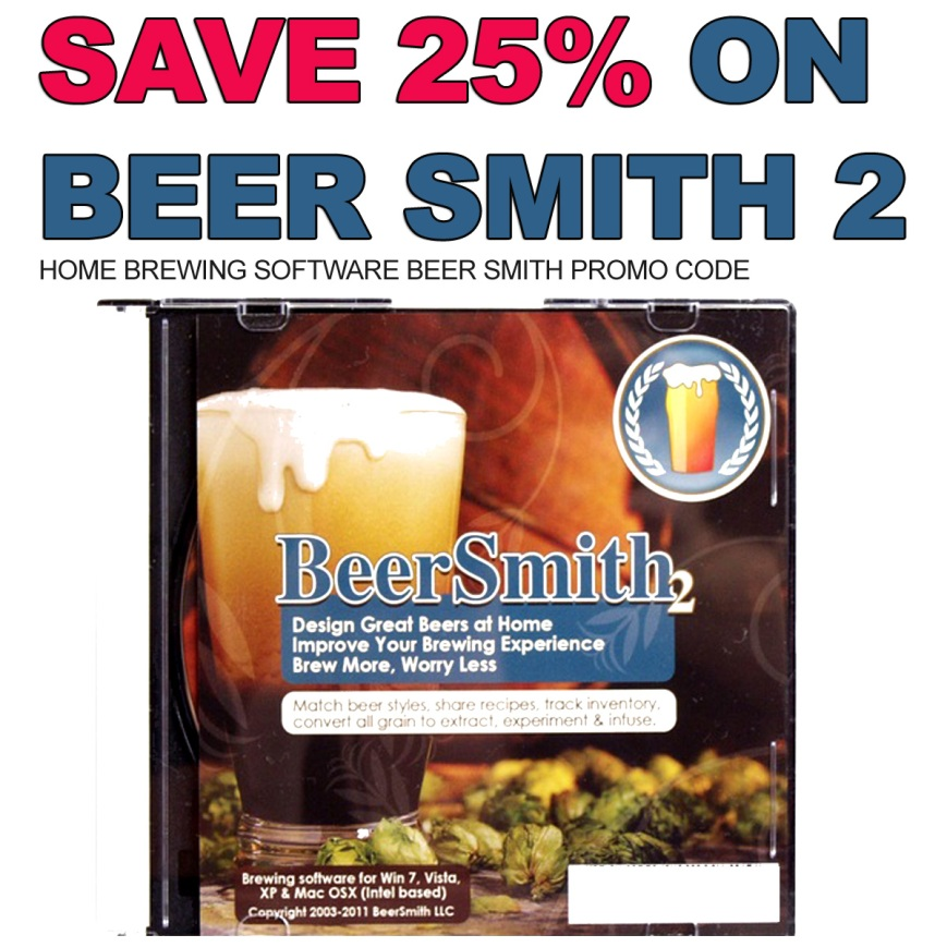 Save 25% On Beer Smith 2 Homebrew Software