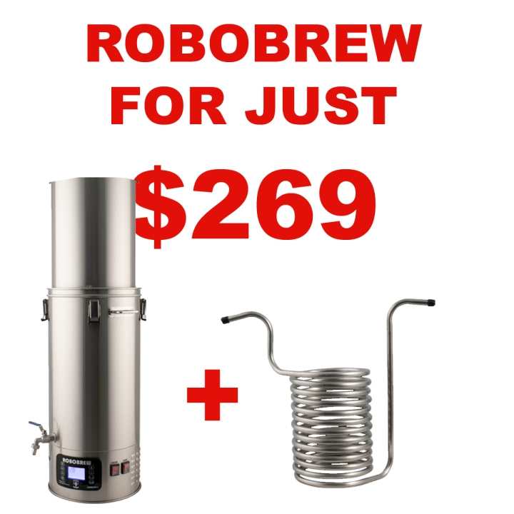 MoreBeer.com Promo Code - Get A RoboBrew v3 For Just $269