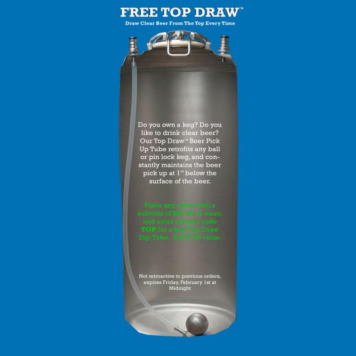 WilliamsBrewing.com Top Draw Promo Code
