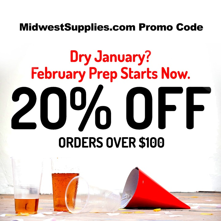MidwestSupplies.com January 2019 Promo Codes
