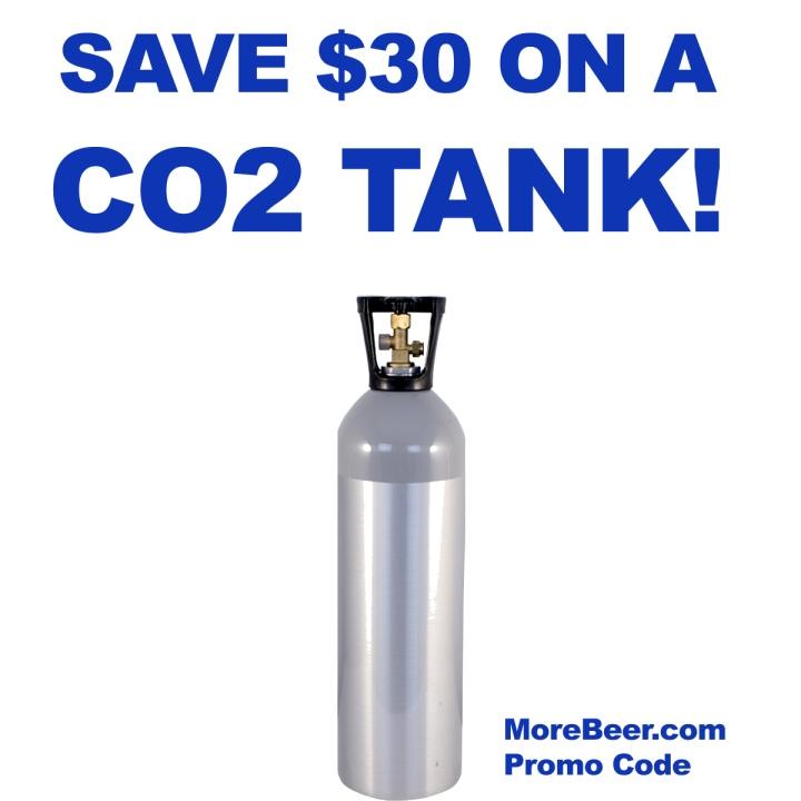 MoreBeer.com CO2 Tank Promo Code