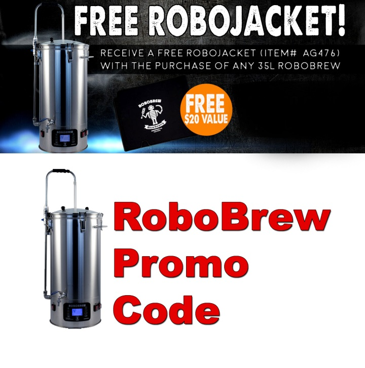 Robobrew Promo Codes from More Beer