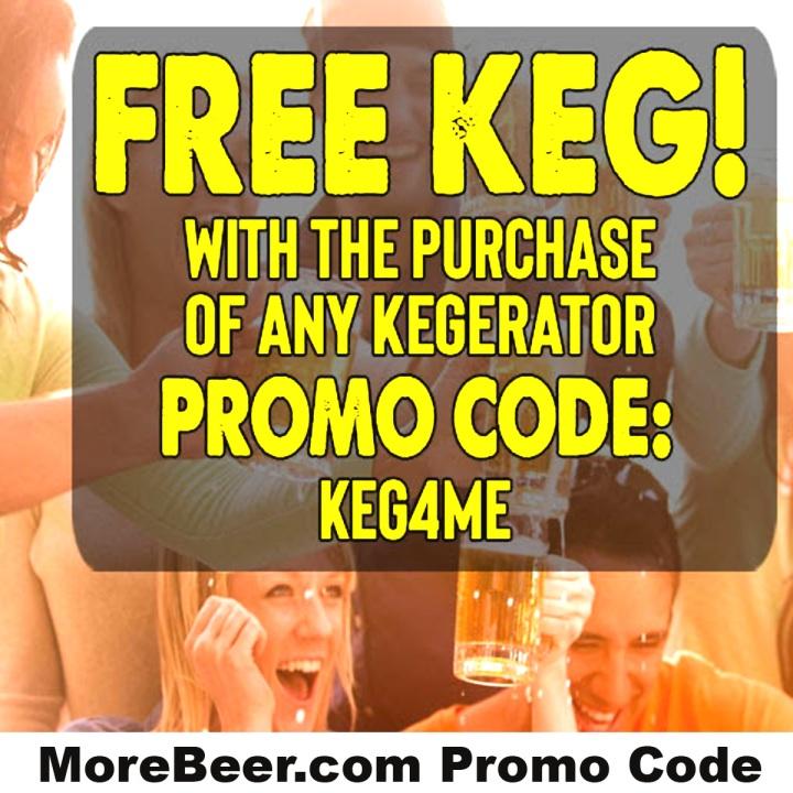 MoreBeer.com Promo Code for a free keg