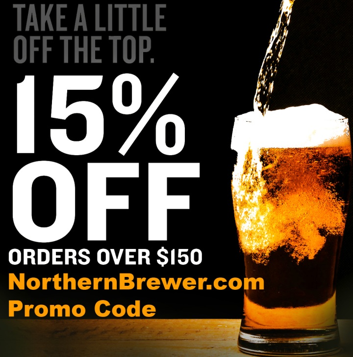 NorthernBrewer.com promo codes for February 2019