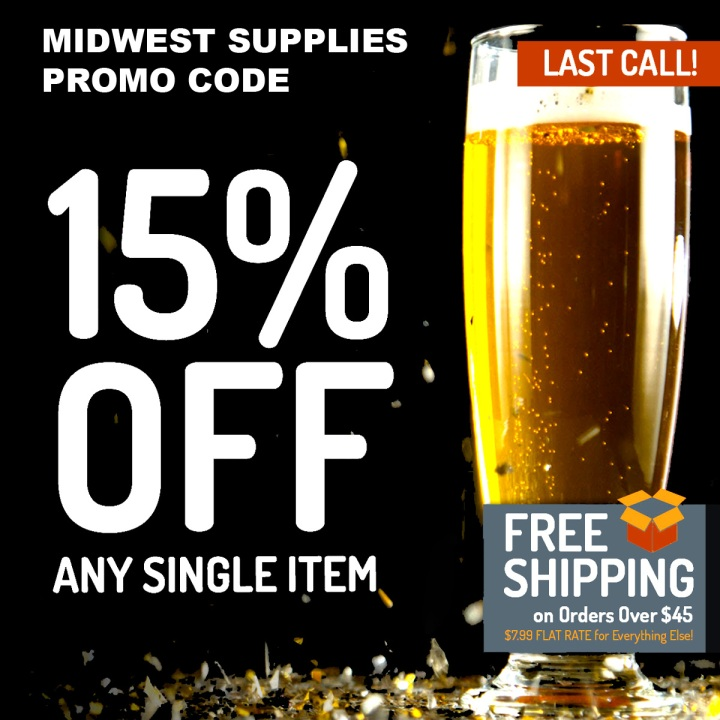 Save 15% On A Single Item at MidwestSupplies.com