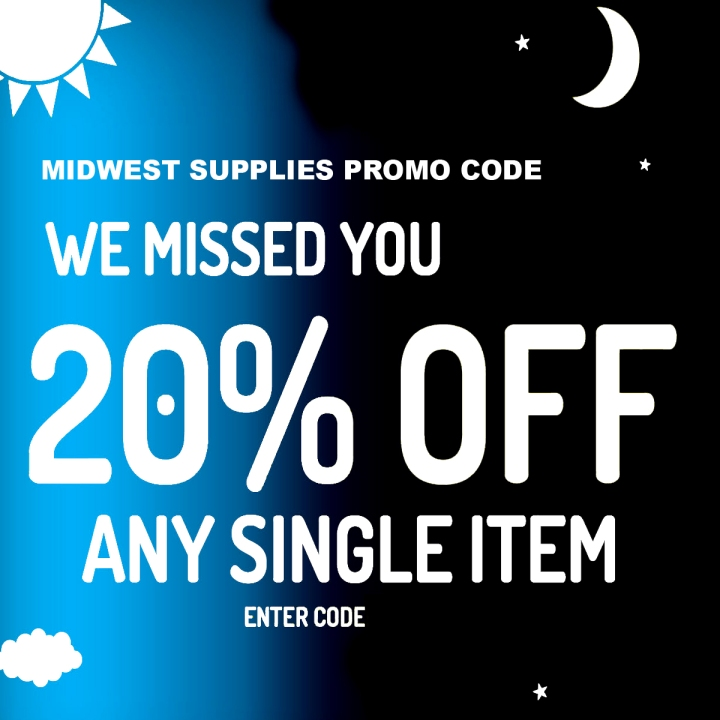 Midwest Supplies Promo Codes for March 2019
