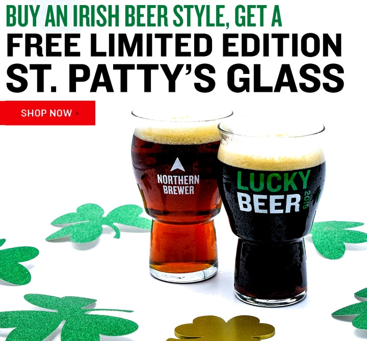 Free Pint Glass At NorthernBrewer.com With Promo Code