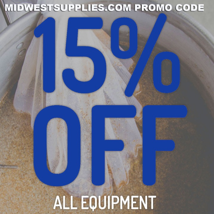 Save 15% On Home Brewing Equipment with this MidwestSupplies.com Promo Code