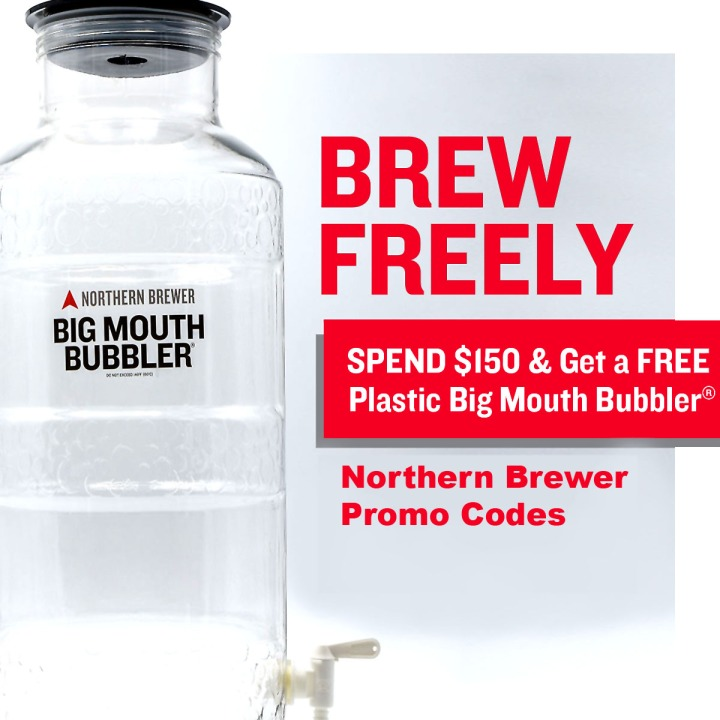 Northernbrewer.com Promo Code for a FREE Big Mouth Bubbler Fermenter