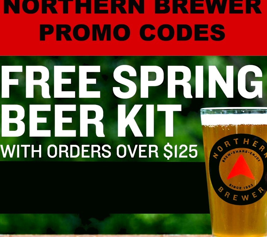 Get a FREE Home Brewing Beer Kit! NorthernBrewer.com Promo Code