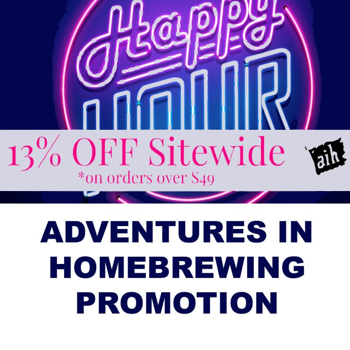 Adventures in Homebrewing Memorial Day Sale