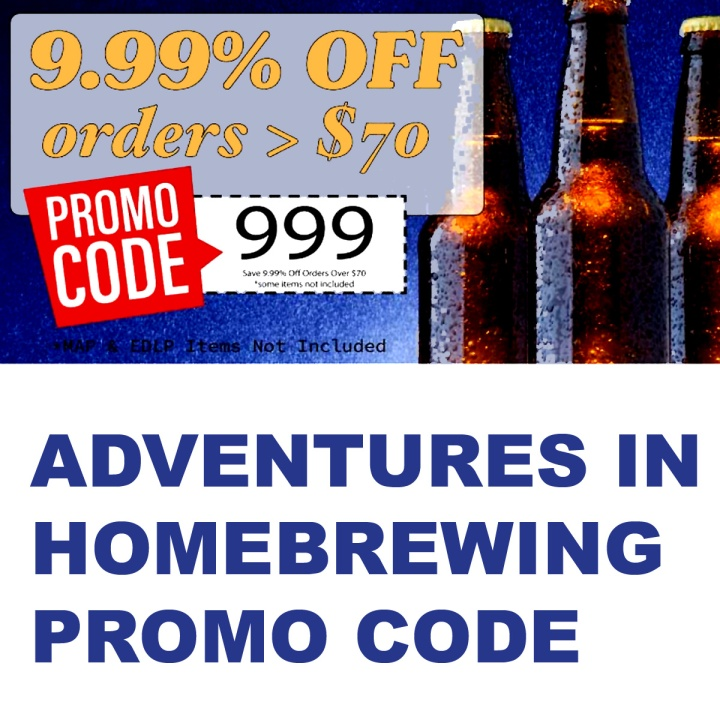 Adventures in Homebrewing Promo Codes and Coupons for May 2019