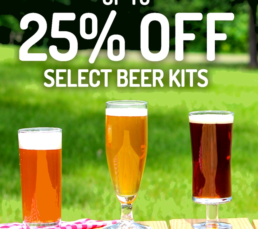 Midwest Supplies Promo Code - Save 25% On Select Beer Brewing Kits