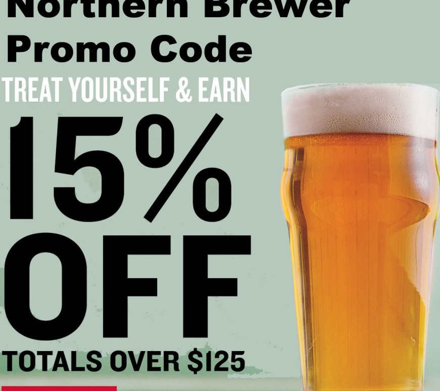Northern Brewer Promo Code Save 15%