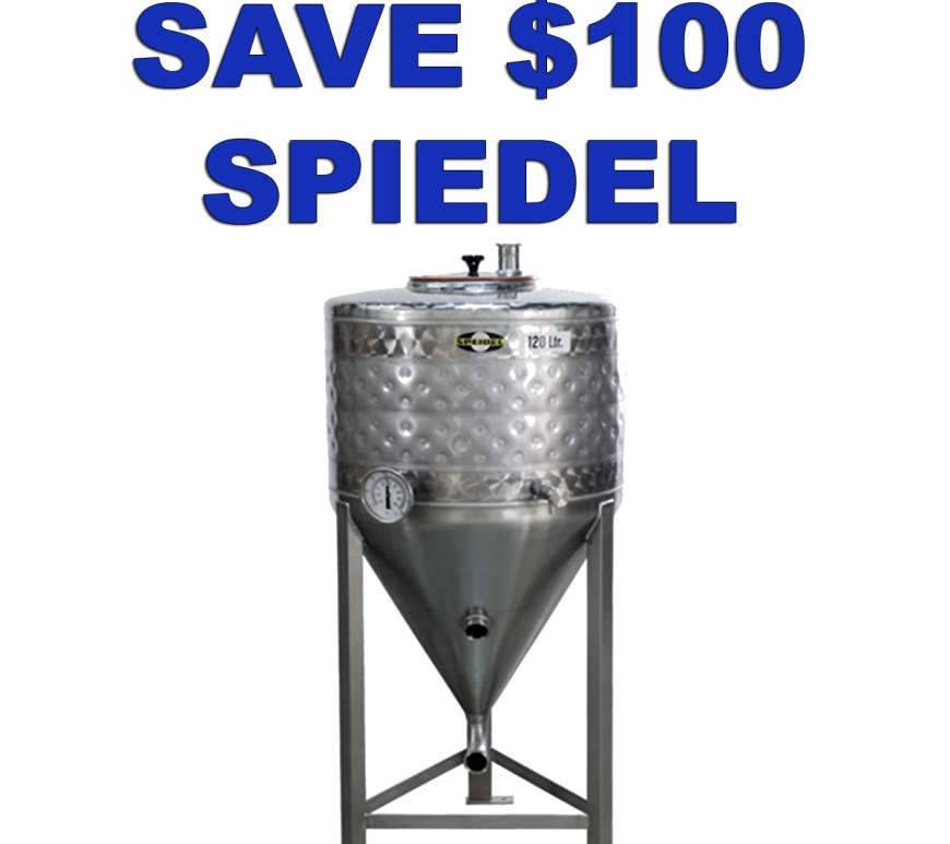 Use this Speidel Promo Code to Save $100 On A Stainless Steel Conical Fermenter