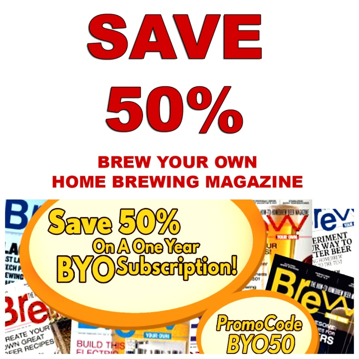 Brew Your Own Magazine Promo Code for 50% Off