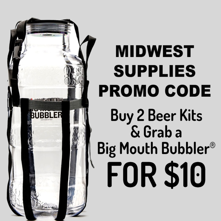 MidwestSupplies.com Promo Code Get A Free Fermenter