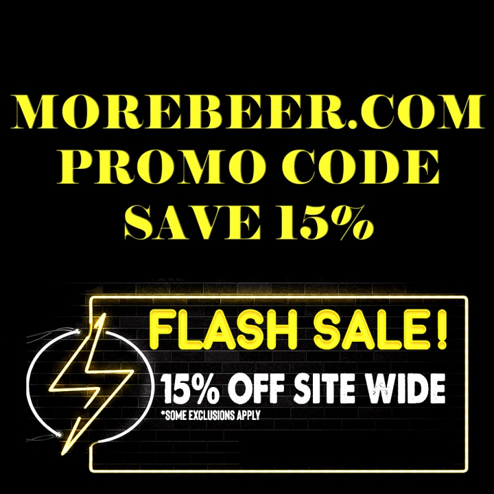 Save An Additional 15% At MoreBeer.com With This Flash Sale More Beer Home Brewing Promo Code