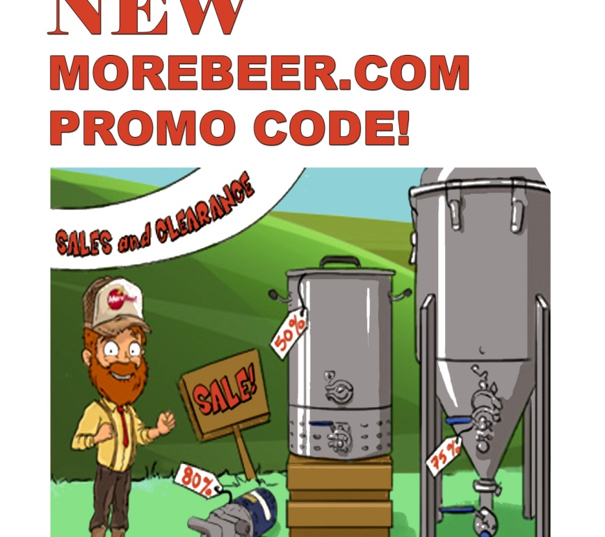 June 2019 Promo Codes for MoreBeer.com - Big Homebrewing Sale