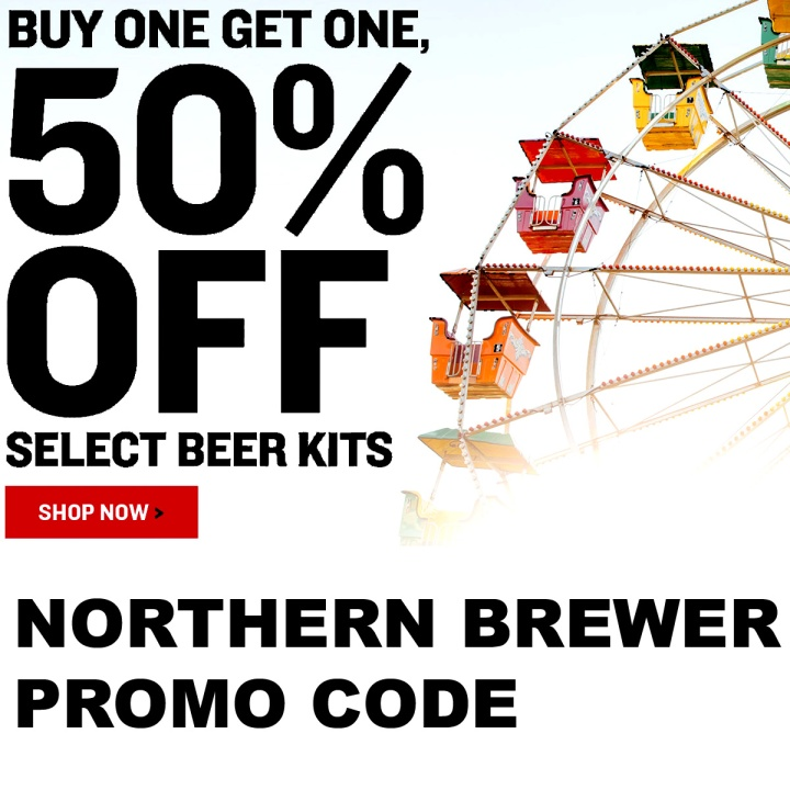 Save 50% On Select Home Beer Brewing Kits