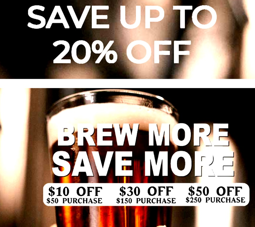 Adventures in Homebrewing Discount Codes for August