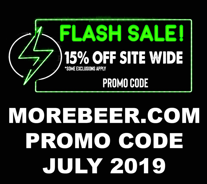 More Beer Promo Codes for July 2019
