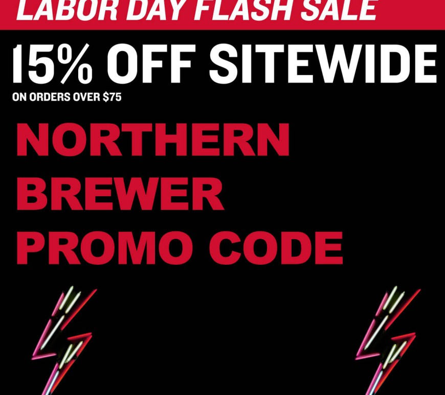 This Labor Day Save 15% At NorthernBrewer.com
