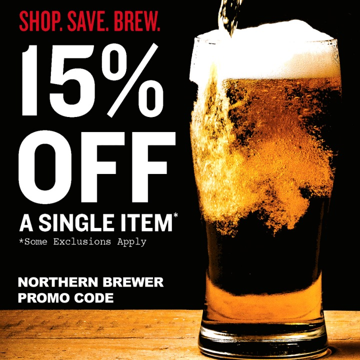 New Home Brewing Promo Code for NorthernBrewer.com - Save 15%