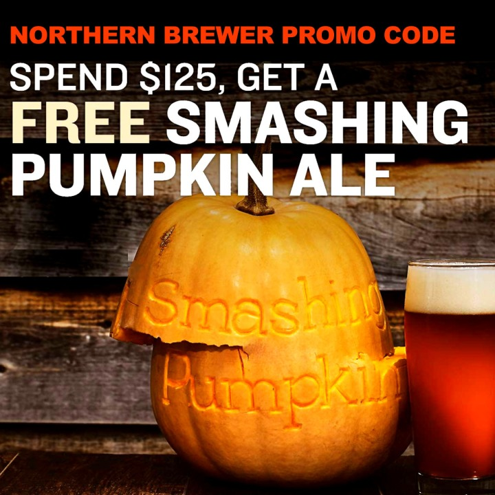 Get a Free Pumpkin Ale Beer Kit With This September 2019 Northern Brewer Promo Code