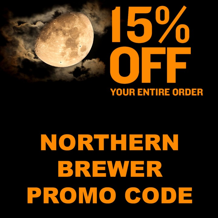 NorthernBrewer.com Promo Code for 15 Percent off Site Wide this Halloween