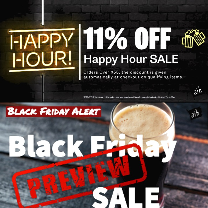 Black Friday Sale for Adventures in Home Brewing