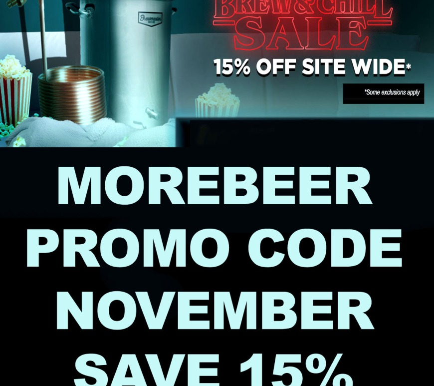 Save Site Wide with this MoreBeer.com Promo Code - 15% Off