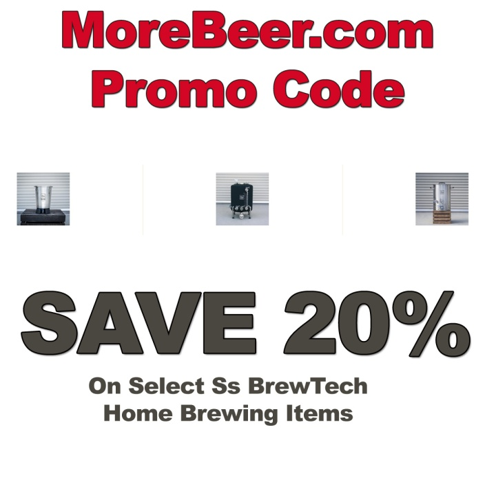 MoreBeer.com Promo Codes for Ss Brew Tech Equipment