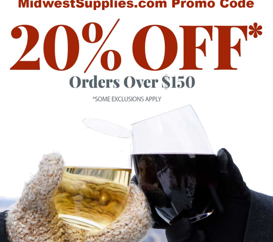MidwestSupplies.com Coupons for February, Save 20%!
