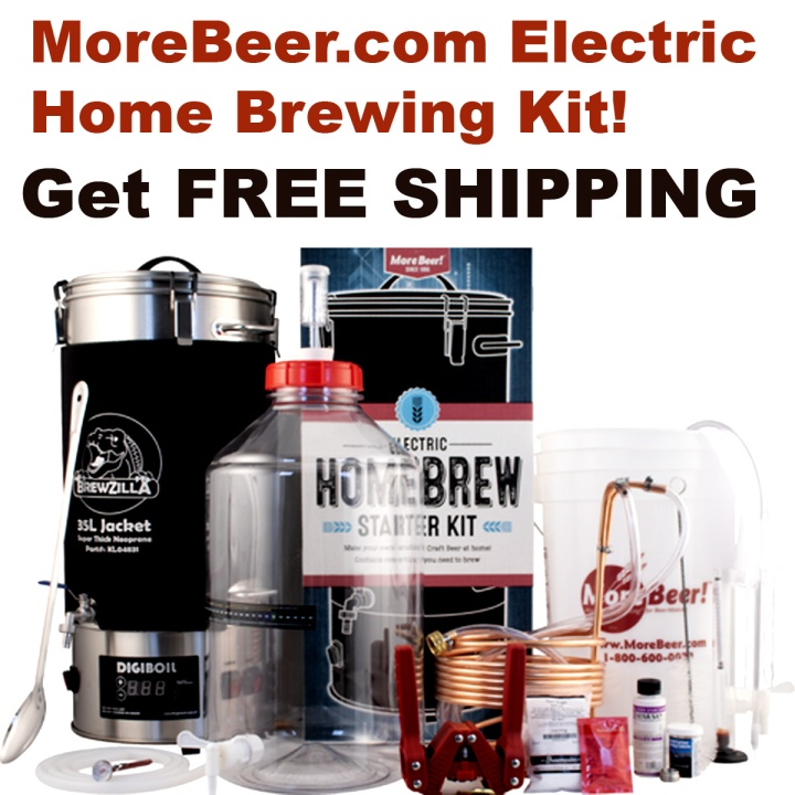 Purchase the New MoreBeer.com Electric Home Brewing Kit and Get a Free Beer Kit!