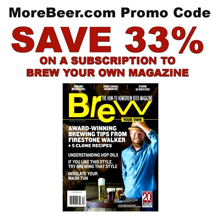 Brew Your Own Magazine Promo Codes October 2020